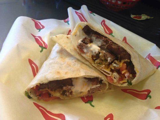 Richland, WA: Grilled Steak Burrito!