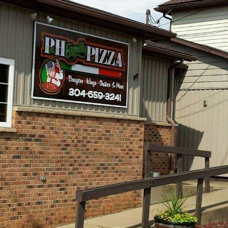 P&H Family Pizza, Pennsboro WV. Next to the historic Pennsboro Depot.