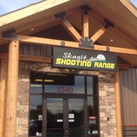 Burlington, WA: Front Entry to Shooting Range