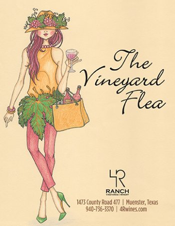 Muenster, TX: Come prepared to relax, and do a little shopping at the Vineyard Flea!