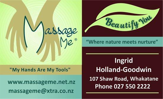 Вакатане, Новая Зеландия: Massage Me & Beautify You