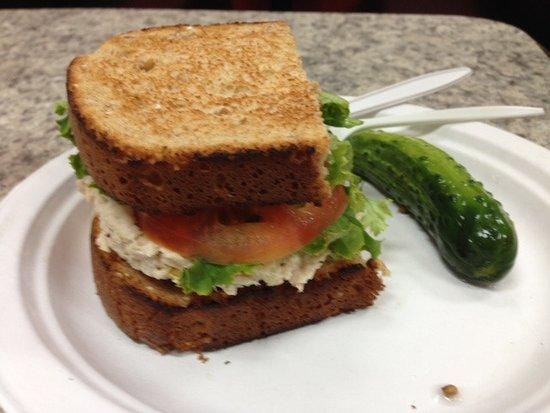 Marblehead, MA: Half Tuna Sandwich on Toast