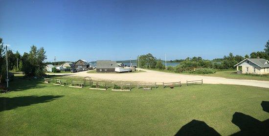Washington Island, WI: Panoramic view