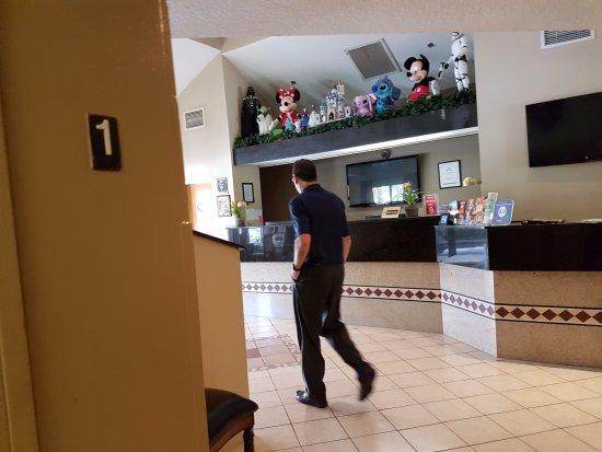 Destiny Palms Hotel Maingate West: Reception / Lobby
