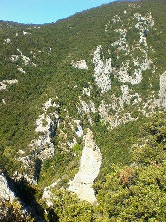 Gorges de Galamus: Ущелье
