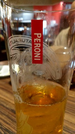 Westborough, MA: Peroni art shot