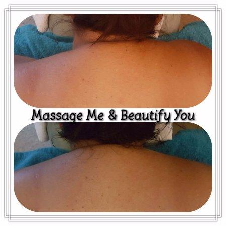 Вакатане, Новая Зеландия: Massage - Before & After