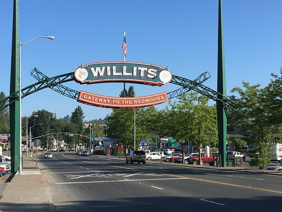 Willits, Californie : Highway 101