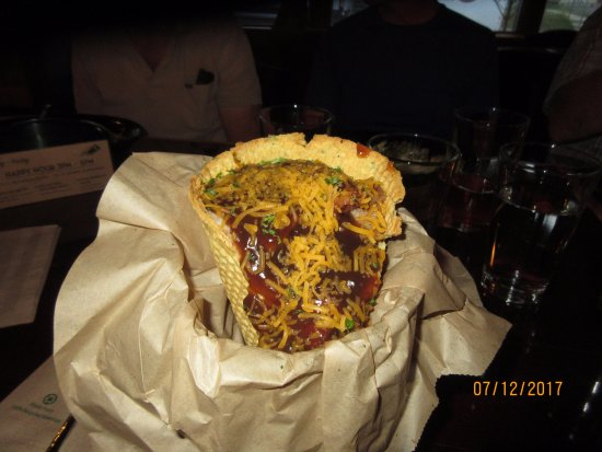 Kellogg, ID: Meal in a cone !