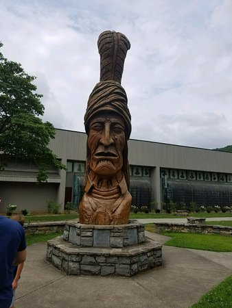 Museum of the Cherokee Indian: This is in front of the museum