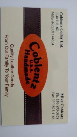 Millersburg, OH: Business card