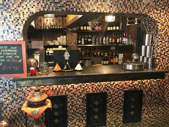 Louth, UK: Bar