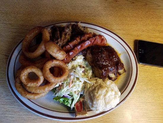 Sultan, WA: BBQ Platter