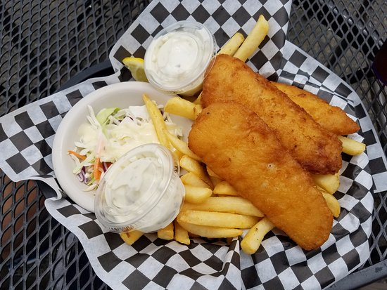 Snohomish, WA: Fish and Chips basket