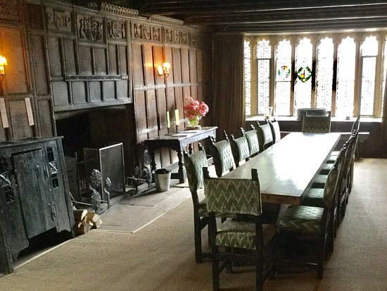 Haddon Hall: Dining Room