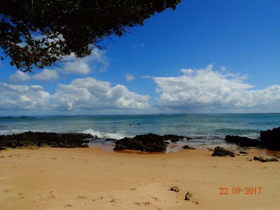 Marau, BA: Sombrinha na Ponta do Mutá