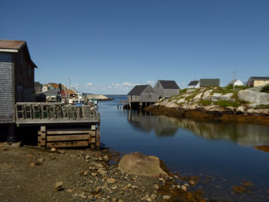 Peggy's Cove, Kanada: Just up from the lighthouse
