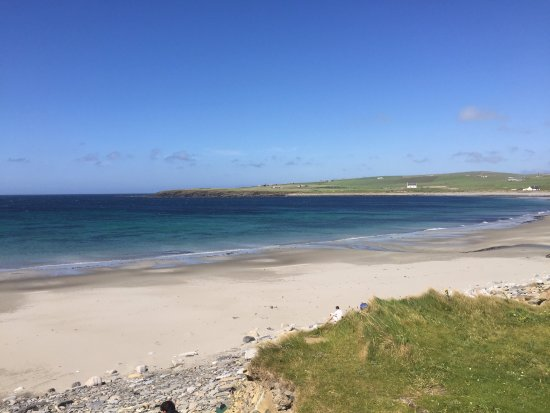 John O'Groats, UK: the beach at Skara Brae
