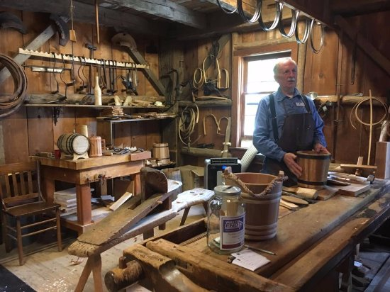 Archbold, OH: The great artisans on site can teach you a lot about how things used to be made