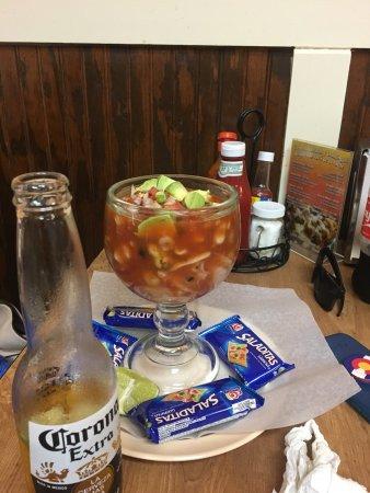 Taqueria El Potrero: Ceviche was great
