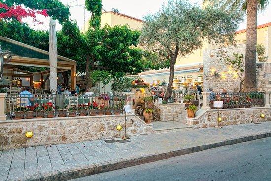 Alana restaurant: from the street