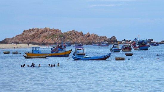 Quy Nhon, Vietnam: view from restaurant