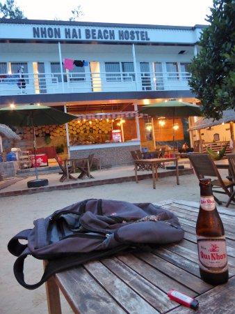 Quy Nhon, Vietnam: View from restaurant area