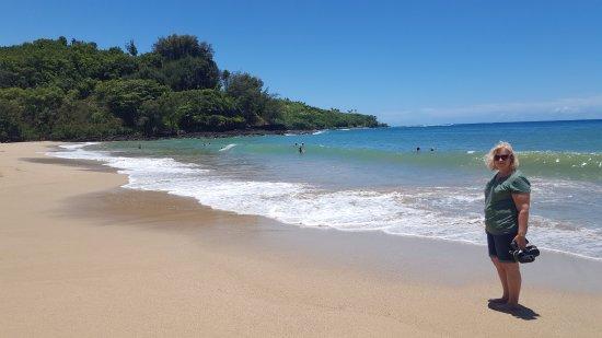Kilauea, Hawái: Kalihiwai Beach
