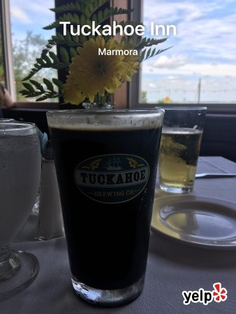 Marmora, نيو جيرسي: Front and my Tuckahoe draught coffee stout