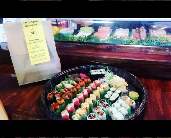 Little Sumo's Sushi Shack: Sushi Party Time!