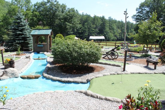 Gorham, NH: the course at Moose Meadow