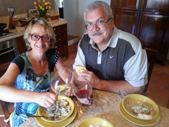 San Pietro in Cariano, Italy: lunch with Laura