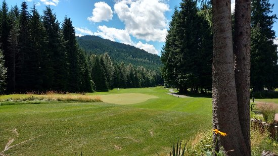 Whistler Golf Club : view from the nineteenth hole