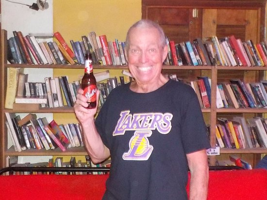Bocas Town, Panama: Books and a Beer