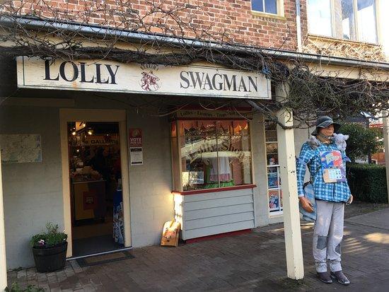 Berrima, Australia: The Lolly Swagman