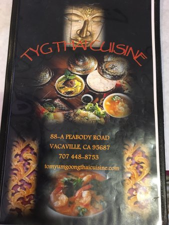 Vacaville, Califórnia: Road stop for Thai