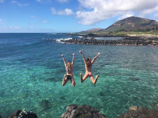 Hauula, Hawaï: Experience this feeling on Mahina Hawaii's Full Day Adventure Retreat!