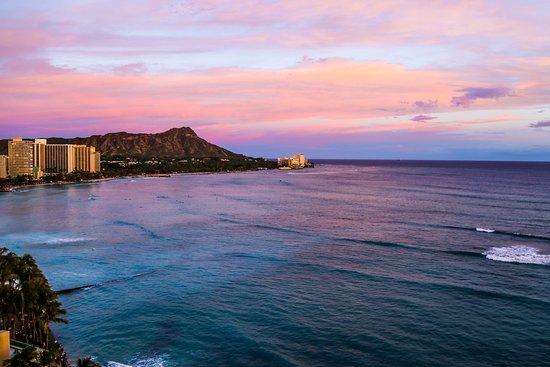 Diamond Head Views from Sheraton Waikiki