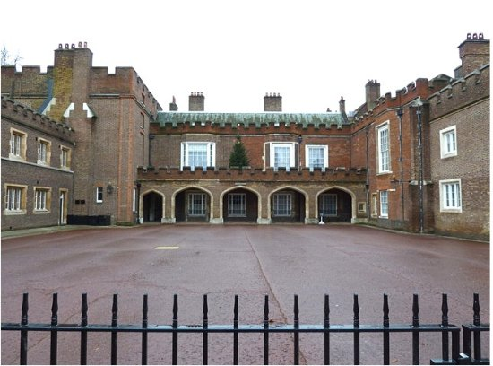 St. James's Palace: Courtyard, St James's Palace
