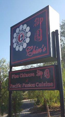 La Mesa, CA: Chin's Street Sign