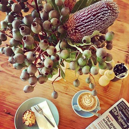 Berry, أستراليا: Coffee & Friand 