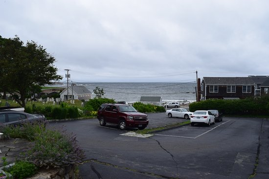 Rockport, MA: View from office front porch