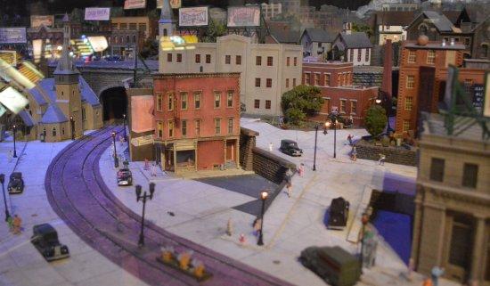 Altoona Railroaders Memorial Museum : Part of a diorama display.