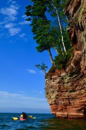 Cornucopia, WI: The geology is incredible!
