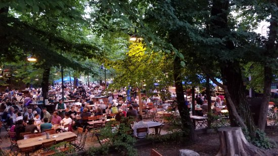 Augustiner-Keller: hundreds of diners