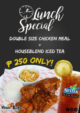 Clark Freeport Zone, Filippinerna: Lunch Special Promo from 11:00 am to 5:00 pm