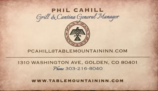 Table Mountain Inn Hotel Grill And Cantina Golden Co