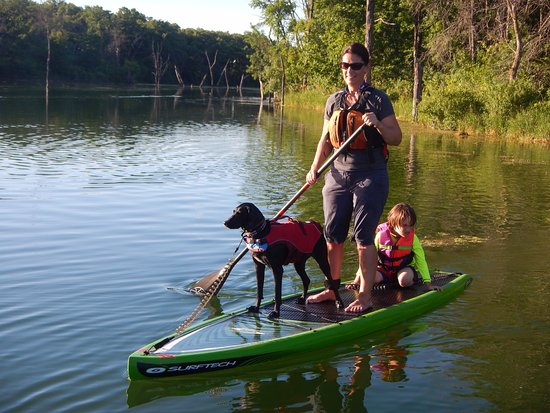 Rochester, MN: SUP at Chester Woods Park