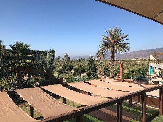Vista del Hotel desde el Comedor