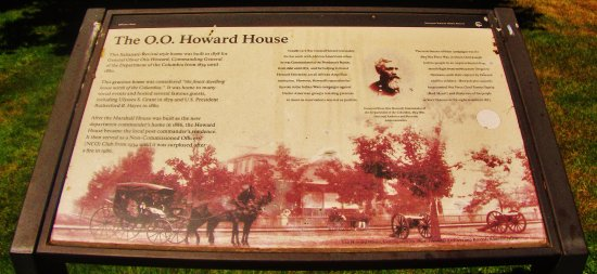 Vancouver, WA: Plaque near the Howard House with information